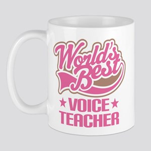 Voice Teacher (Worlds Best) Mug
