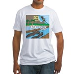Alligator Hunting Fitted T-Shirt