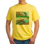Alligator Hunting Yellow T-Shirt