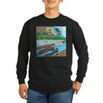 Alligator Hunting Long Sleeve Dark T-Shirt