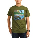 Alligator Hunting Organic Men's T-Shirt (dark)
