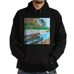 Alligator Hunting Hoodie (dark)