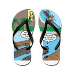 Alligator Hunting Flip Flops