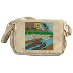 Alligator Hunting Messenger Bag