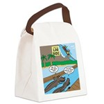 Alligator Hunting Canvas Lunch Bag