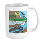 Alligator Hunting Large Mug