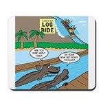 Alligator Hunting Mousepad