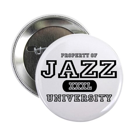 "Jazz University 2.25"" Button (10 pack)"