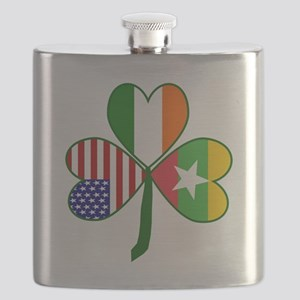 Shamrock of Burma / Mayanmar Flask