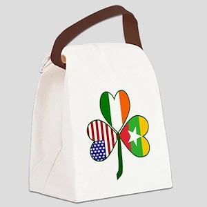 Shamrock of Burma / Mayanmar Canvas Lunch Bag