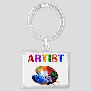 Artist Landscape Keychain