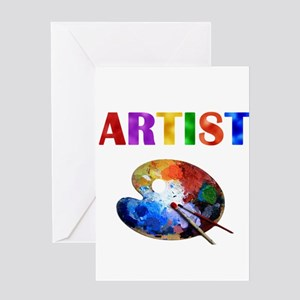 Artist Greeting Card