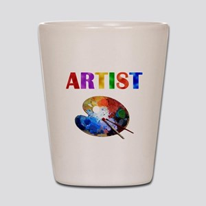 Artist Shot Glass