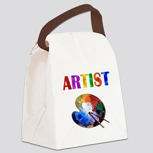 Artist Canvas Lunch Bag