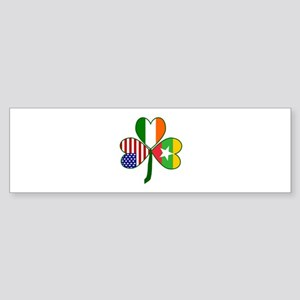 Shamrock of Burma / Myanmar Sticker (Bumper)