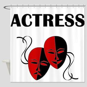 Actress Masks Shower Curtain