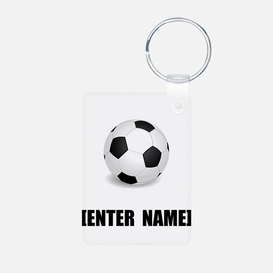 Soccer Personalize It! Keychains