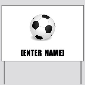 Soccer Personalize It! Yard Sign