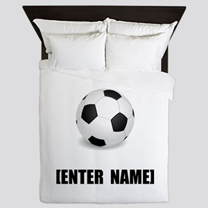 Soccer Personalize It! Queen Duvet