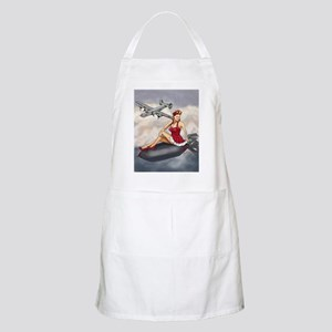 Bomber Girl WWII Pin-Up Apron