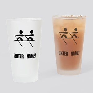 Rowing Personalize It! Drinking Glass