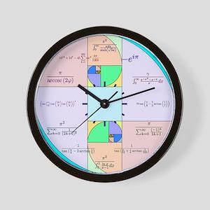 Golden ratio wall clocks cafepress golden ratio math clock wall clock gumiabroncs Choice Image