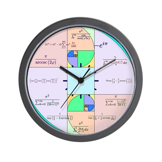 Golden Ratio Math Clock