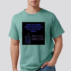 There Are Truths - Voltaire Mens Comfort Colors Sh