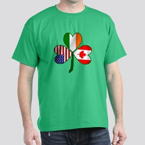 Shamrock of Canada Dark T-Shirt