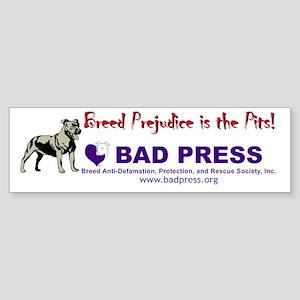 Breed Prejudice Bumper Sticker