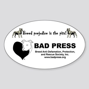 Pit Bull Breed Prejudice Sticker