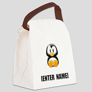 Penguin Personalize It! Canvas Lunch Bag