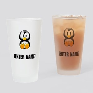 Penguin Personalize It! Drinking Glass