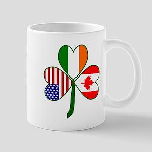 Shamrock of Canada Right Mug