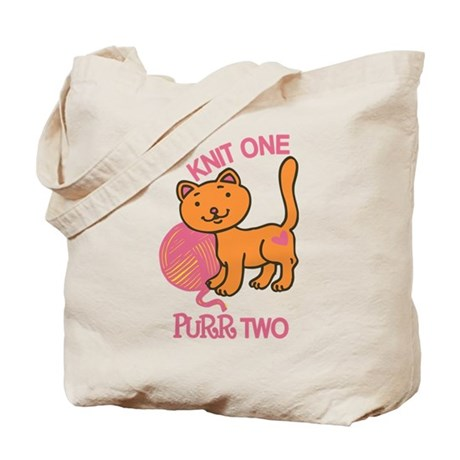 Purr Two Tote Bag
