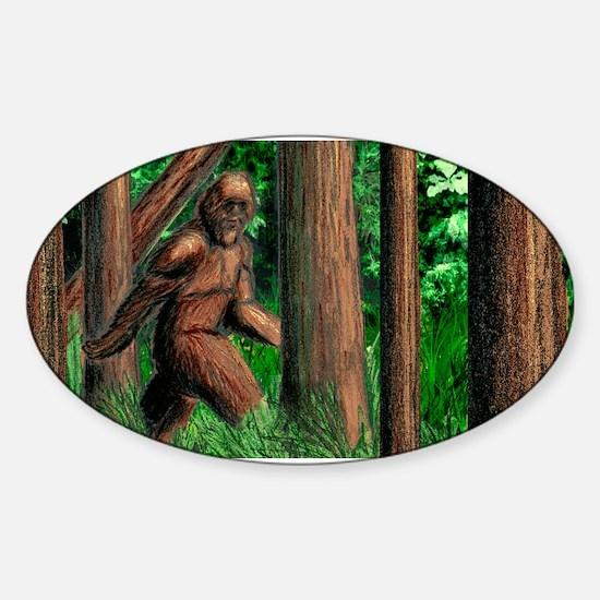 Bigfoot Decal