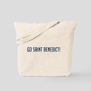 Go Saint Benedict Tote Bag