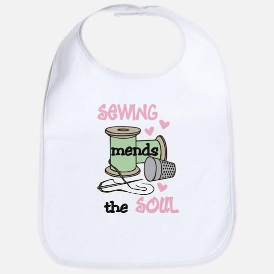 Sewing Mends The Soul Bib