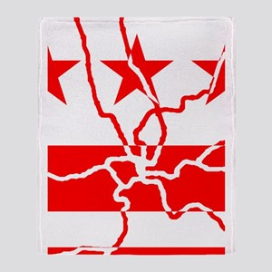DC Metro Inverted Throw Blanket