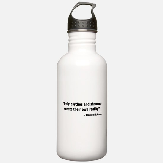 Create reality Terence Mckenna Water Bottle