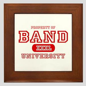 Band University Framed Tile