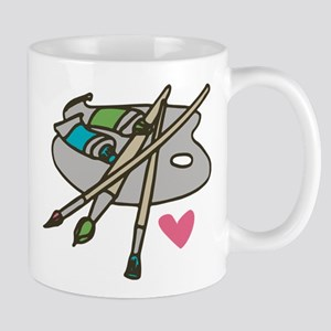 Painter's Palette Mug