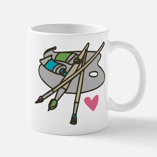 Painter's Palette Mug