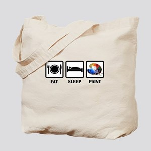 Eat, Sleep, Paint Tote Bag