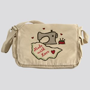 Made With Love Messenger Bag