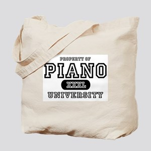 Piano University Tote Bag