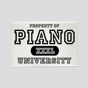 Piano University Rectangle Magnet
