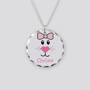 Bunny face customized Necklace