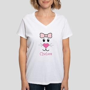 Bunny face customized T-Shirt