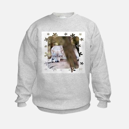 """Wolf"" Sweatshirt for Girls"